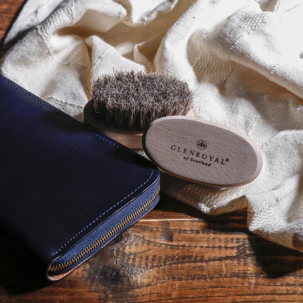 グレンロイヤル GLENROYAL メンテナンスブラシ BRUSH S ブラシ 馬毛 お手入れ用ブラシ BRUSH
