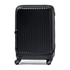 カーゴ スーツケース CARGO airtrans カーゴ エアトランス トリオ TRIO キャリーケース 50L Sサイズ フロントポケット ビジネス 出張 1~3泊程度 CAT-624FP エンボスブラック