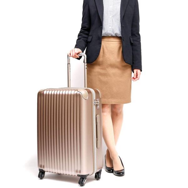 CARGO airtrans カーゴエアトランス スーツケース 軽量 トリオ TRIO 4輪 キャリーケース 55L Sサイズ 3~4泊程度 CAT-633N ブラックエディション