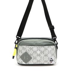 【日本正規品】チャムス ショルダー CHUMS Mini Square Shoulder Sweat Nylon ショルダーバッグ バッグ メンズ レディース CH60-2121 ミニショルダー Snowflake(W045)