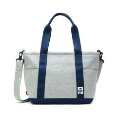 【日本正規品】チャムス トートバッグ CHUMS チャムス 2WAYトートバッグ ショルダー オープントップトートバッグ スウェットナイロン Open Top Tote Bag Sweat Nylon メンズ レディース CH60-2461 H-Gray_BasicNavy(G019)