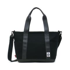 【日本正規品】チャムス トートバッグ CHUMS チャムス 2WAYトートバッグ ショルダー オープントップトートバッグ スウェットナイロン Open Top Tote Bag Sweat Nylon メンズ レディース CH60-2461 Black_Charcoal(K018)