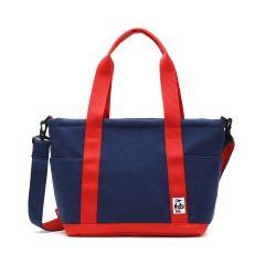 【日本正規品】チャムス トートバッグ CHUMS チャムス 2WAYトートバッグ ショルダー オープントップトートバッグ スウェットナイロン Open Top Tote Bag Sweat Nylon メンズ レディース CH60-2461 H-Navy_Tomato(N031)