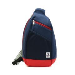 【日本正規品】チャムス バッグ CHUMS チャムス ボディバッグ ワンショルダー Body Bag Sweat Nylon 斜めがけ スウェットナイロン メンズ レディース CH60-2519 H-Navy_Tomato(N031)