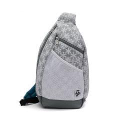 【日本正規品】チャムス バッグ CHUMS チャムス ボディバッグ ワンショルダー Body Bag Sweat Nylon 斜めがけ スウェットナイロン メンズ レディース CH60-2519 Snowflake(W045)