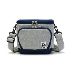 【日本正規品】チャムス カメラバッグ CHUMS チャムス 2WAY ショルダー ボックスカメラバッグ スウェットナイロン Box Camera Bag Sweat Nylon メンズ レディース CH60-2520 H-Gray_BasicNavy(G019)