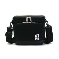 【日本正規品】チャムス カメラバッグ CHUMS チャムス 2WAY ショルダー ボックスカメラバッグ スウェットナイロン Box Camera Bag Sweat Nylon メンズ レディース CH60-2520 Black_Charcoal(K018)