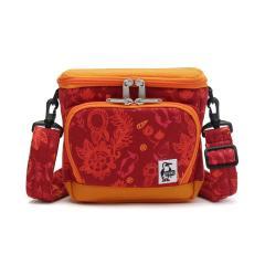 【日本正規品】チャムス カメラバッグ CHUMS チャムス 2WAY ショルダー ボックスカメラバッグ スウェットナイロン Box Camera Bag Sweat Nylon メンズ レディース CH60-2520 RedGarden(R079)