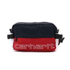 【日本正規品】カーハート ウエストバッグ Carhartt WIP バッグ ウエストポーチ TERRACE HIP BAG テラスヒップバッグ 斜めがけ 6.3L メンズ レディース I026186 CardinalxDNavyxWhite(9N18)