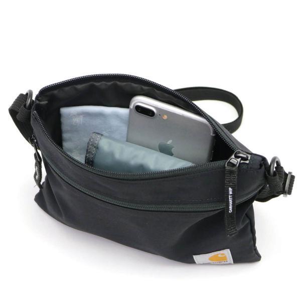 【日本正規品】カーハート サコッシュ carhartt WIP JACOB BAG ヤコブバック スモール ミニショルダー ショルダーバッグ メンズ レディース A191008 Black(8900)