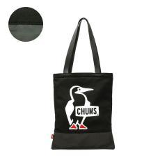 【日本正規品】チャムス トートバッグ CHUMS トート フラットトートスウェットナイロン Flat Tote Sweat Nylon A4 メンズ レディース CH60-2926 BlackxCharcoal(K018)