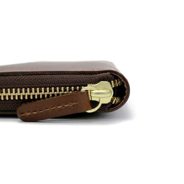 クレドラン 財布 CLEDRAN 長財布 DETOU デトウ ラウンドファスナー長財布 ロングウォレット 本革 メンズ CLM-1016 ネイビー(88-0059)