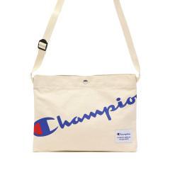 【セール】チャンピオン ショルダーバッグ Champion サコッシュ 斜めがけ 小さめ ヒース3 キャンバス ミニショルダー メンズ レディース 62321 ホワイト(06)