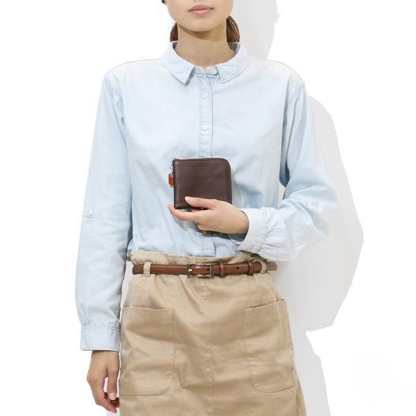 クランプ 財布 CRAMP L字ファスナー財布 二つ折り財布 Italian Shrink Leather 本革 レザー ショートウォレット メンズ レディース 池之端銀革店 Cr-167 ブラック