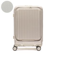 【正規品2年保証】カーゴ スーツケース CARGO 機内持ち込み Sサイズ エアレイヤー AiR LAYER トリオ TRIO フロントオープン ファスナー TSA 35L 1泊 ダブルキャスター ストッパー ハードケース 旅行 出張 CAT532LY サテンゴールド