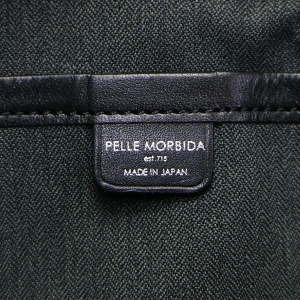 ペッレモルビダ ポーチ PELLE MORBIDA 小物入れ モルビダ 正規取扱店 メンズ レディース Cinque Terre チンクエテッレ ペレモルビダ CT002 ホワイトxネイビー
