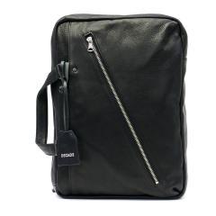 ディケイド バッグ DECADE リュック ビジネスリュック メンズ Oiled Cow Leather リュックサック ビジネスバッグ 2WAY ブリーフケース DCD-01100 ブラック