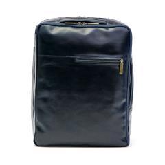 ダコタブラックレーベル リュック Dakota BLACK LABEL ビジネスリュック カワシ ビジネスバッグ 2WAY ブリーフケース PC収納 B4 通勤 本革 ブランド メンズ 1620262 ネイビー(60)