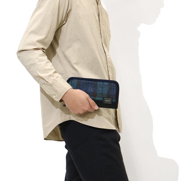 エッセンシャルデザインズ×ポーター 長財布 ESSENTIAL DESIGNS×PORTER 財布 EDS×MALLALIEUSシリーズ マラリウス ラウンドファスナー ポ-タ- 吉田カバン メンズ レディース E173803 ベージュ