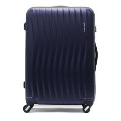 フリクエンター スーツケース FREQUENTER WAVE ウェーブ キャリーケース Lサイズ 89L 7~10泊 ファスナー 静音 4輪 TSAロック エンドー鞄 旅行 1-624 マットネイビー