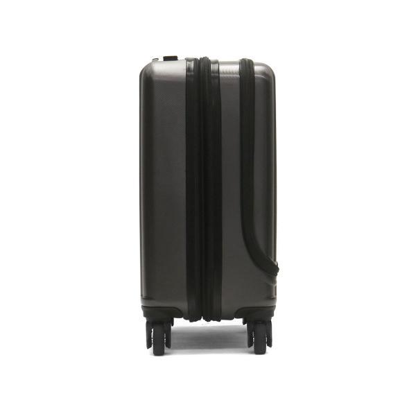 フリクエンター スーツケース FREQUENTER MALIE マーリエ 機内持ち込み Sサイズ フロントオープン 充電 キャリーケース 拡張 ファスナー 34L 1泊 2泊 出張 旅行 1-282 Eガンメタ