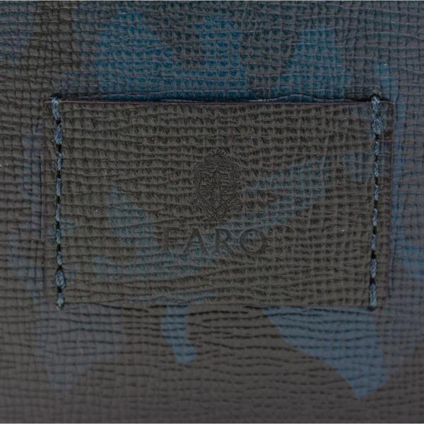 FARO ファーロ トートバッグ faro トート メンズ  迷彩 カモフラージュ 革 BESTIALE CAMOUFLAGE FRO116273 GRAY(014)