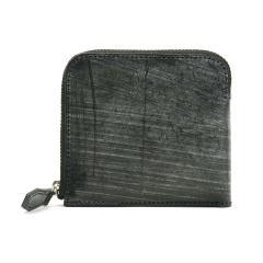 フォルテン 財布 FORTEN 二つ折り財布 メンズ レディース 薄い 本革 小銭入れあり UK BRIDLE SMART WALLET 別注 com-ono 日本製 FRT0002 ブラック(10)