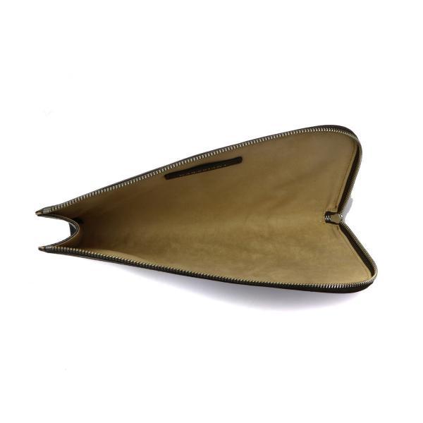 【正規取扱店】ガレリアント GALLERIANT クラッチバッグ SOTTILE サブバッグ セカンドバッグ 本革 メンズ レディース GLS-3830 ネイビー(43)
