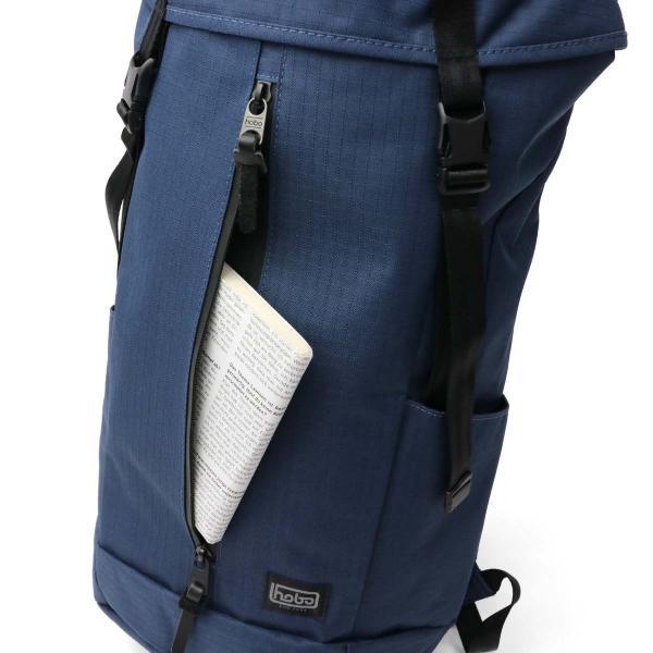 ホーボー バッグ hobo リュックサック バックパック リュック Polyester Ripstop with Waterproof Zip Backpack 28L リップストップ メンズ レディース アウトドア トラベル HB-BG2626 ネイビー(056)