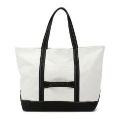 【セール】ホーボー トート hobo トートバッグ Cotton Nylon Grosgrain Tote Bag M バッグ 手持ち A4 通学 カジュアル メンズ レディース HB-BG2707 ブラック(019)