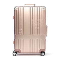 【正規品2年保証】イノベーター スーツケース innovator キャリーケース 10周年アニバーサリーモデル アルミ 4輪 67L 5泊 6泊 TSAロック 旅行 INV2517LA ROSEGOLD