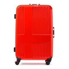 イノベーター スーツケース innovator キャリーケース 10周年アニバーサリーモデル  フレームタイプ 4輪 90L 7~10泊 大型 Lサイズ TSAロック 旅行 ハード INV675 サンセットオレンジxレッド
