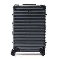 【5年保証】ランツォ スーツケース LANZZO キャリーケース Mサイズ フレーム ハード 軽量 TSA NORMAN LIGHT ノーマンライト 65L 5泊 6泊 旅行 メンズ レディース GREY