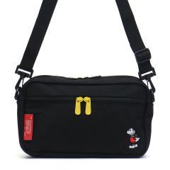 【日本正規品】マンハッタンポーテージ ショルダーバッグ  Manhattan Portage ミッキー マンハッタン Mickey Mouse Collection Jogger Bag 斜めがけ 小さめ メンズ レディース ミニショルダー MP1404LMIC18 ブラック