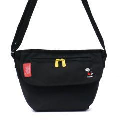 【日本正規品】マンハッタンポーテージ メッセンジャーバッグ  Manhattan Portage ミッキー マンハッタン Mickey Mouse Collection Casual Messenger Bag 斜めがけ 小さめ メンズ レディース MP1603MIC18 ブラック