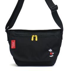 【日本正規品】マンハッタンポーテージ メッセンジャーバッグ  Manhattan Portage ミッキー マンハッタン Mickey Mouse Collection Casual Messenger Bag 斜めがけ メンズ レディース MP1605JRMIC18 ブラック