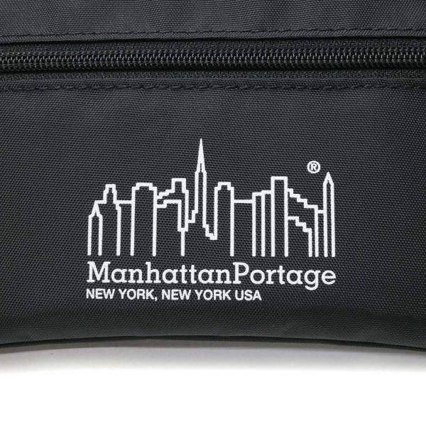 マンハッタンポーテージ サコッシュ Manhattan Portage ポーチ ショルダーバッグ 2WAY マンハッタン Triple Zipper Pouch 斜めがけ 軽い メンズ レディース MPTripleZP ブラック