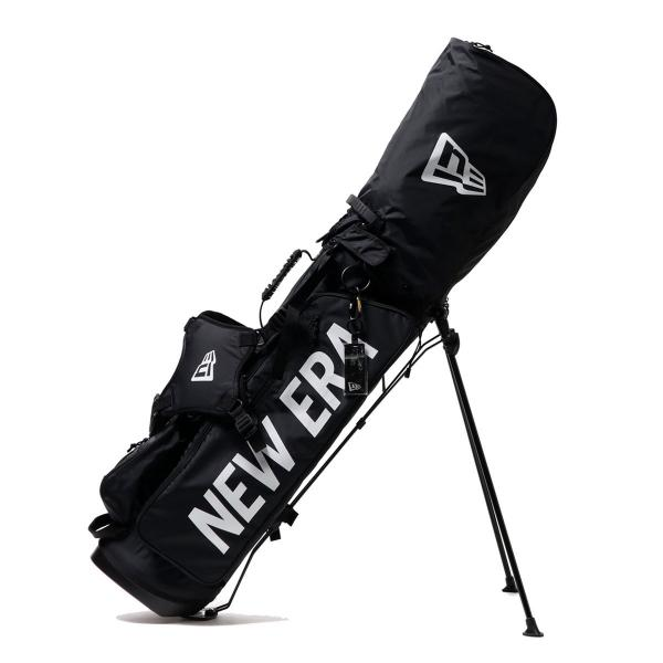 c465fa921c 【正規取扱店】ニューエラ キャディバッグ NEW ERA ゴルフ ゴルフバッグ カバー スタンド ショルダー