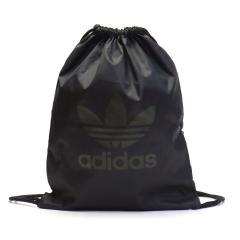 【セール40%OFF】アディダスオリジナルス バッグ adidas Originals アディダス オリジナルス GYMSACK TREFOIL ナップサック ジムバッグ ジムサック 軽量  メンズ レディース NQB29 ブラックxナイトカーゴ(DV2388)