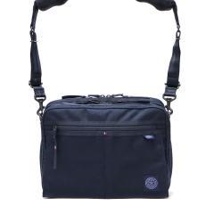 ポータークラシック ショルダーバッグ Porter Classic muatsu NEWTON SHOULDER BAG ショルダー 斜めがけ コンパクト 2層式 メンズ レディース 日本製 PC-050-955 ネイビー(41)