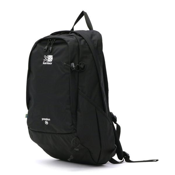 カリマー karrimor リュックサック デイパック preston day pack プレストンデイパック リュック 25L メンズ レディース 594 Black