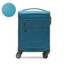 プロテカ スーツケース PROTeCA 機内持ち込み フィーナ Feena ST フィーナ エスティー キャリーバッグ キャリーケース 軽量 フロントオープン 18L 1泊 ファスナー 旅行 ソフトケース レディース エース ACE 12844 ブルーグリーン(04)