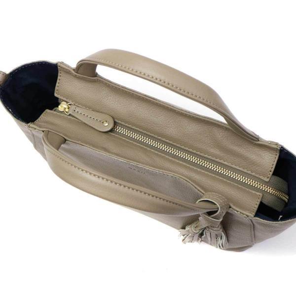 クアー バッグ quair ミオ mio トートバッグ 2WAYトートバッグ 斜めがけバッグ レディース 本革 ファスナー付き Q210-2013 ブラック(10)