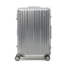 【Begin 雑誌掲載】【永久保証】 RICARDO スーツケース リカルド キャリーケース Aileron 24-inch Spinner Suitcase エルロン 24インチ スピナー スーツケース 58L フレーム アルミ リカルドビバリーヒルズ AIL-24-4VP Silver