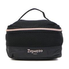 レペット Repetto ポーチ Coda bag 小物入れ バニティバッグ 化粧ポーチ レディース Mesh Black CODA 51182551298 ブラック(99)