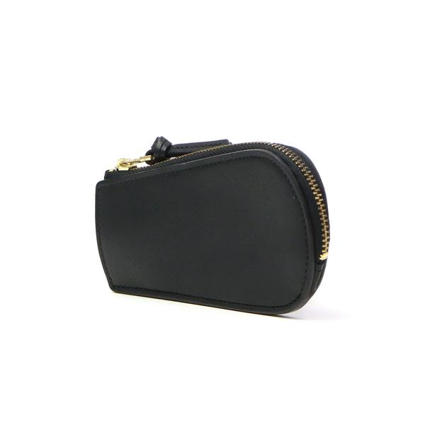 スロウ キーケース SLOW 革 ファスナー zip key case DOUBLE OIL ダブルオイル レザー 栃木レザー メンズ レディース S0611D ブラック(10)