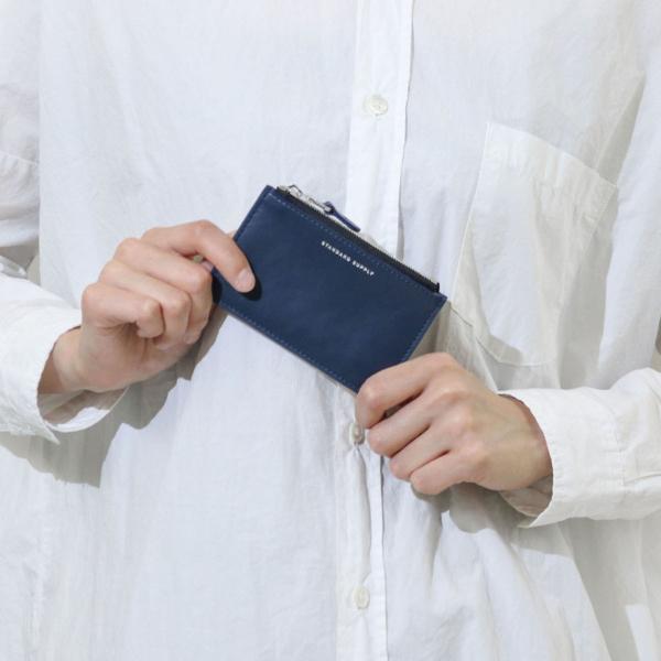 スタンダードサプライ カードケース STANDARD SUPPLY コインケース 小銭入れ レザー スリム 本革 薄型 メンズ レディース PAL パル ZIP TOP CARD CASE S 父の日 ライトベージュ