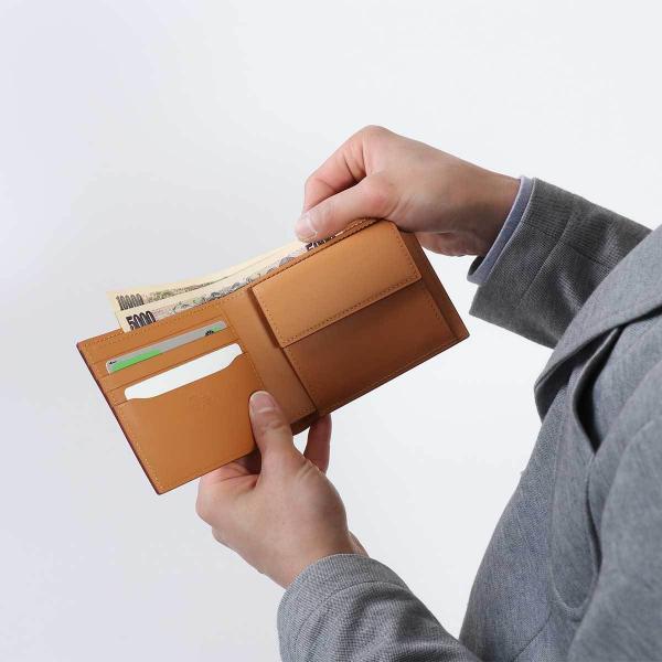 フェソン 財布 FESON 二つ折り財布 アドバン切目札入 メンズ レザー 本革 小銭入れあり ST01-003【送料無料】 ブルー
