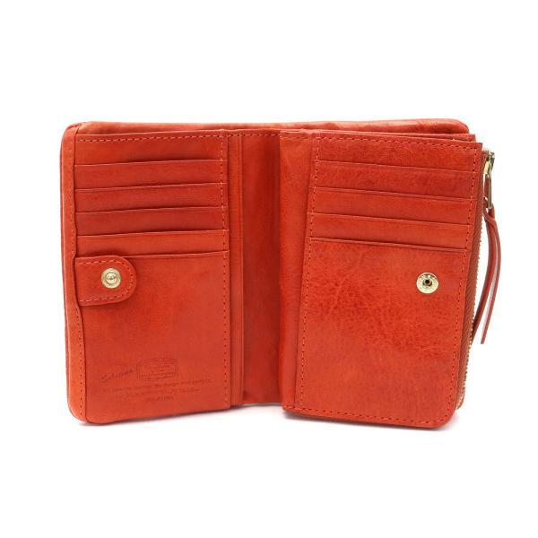 ソラチナ 財布 SOLATINA 二つ折り財布 本革 小銭入れ ブランド メンズ レディース SW-60052 ブルー