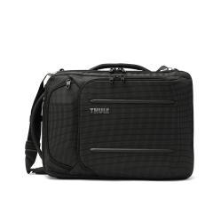 """【正規品2年保証】 スーリー ビジネスバッグ THULE 3WAY ブリーフケース Thule Crossover 2 Convertible Laptop Bag 15.6"""" ビジネスリュック ショルダー B4 大容量 通勤 旅行 メンズ レディース C2CB-116 Black"""